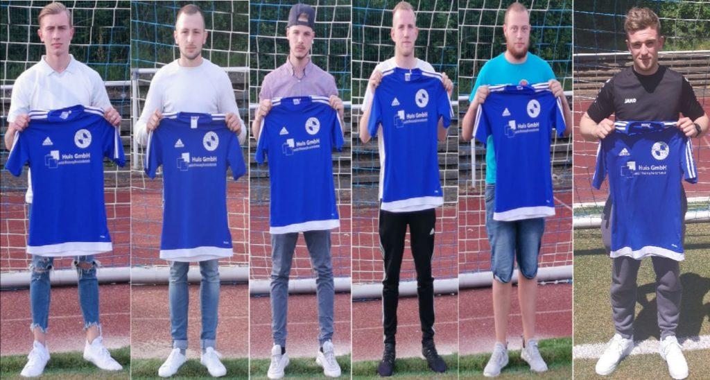 v. l.: David Zeier, Edison Kerelej, Denis Röcher, Marcel Kroh, Oliver Schloos, Marcel Rode